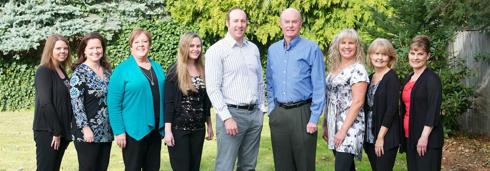 Ostenson-Detnal-Team-Shot dentist in Vancouver, WA.